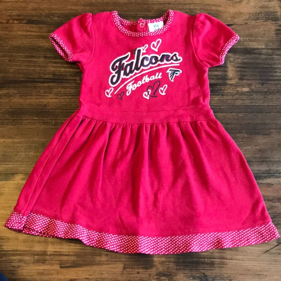 NFL Team Apparel Dresses | Girls Atlanta Falcons Dress | Poshmark  for cheap